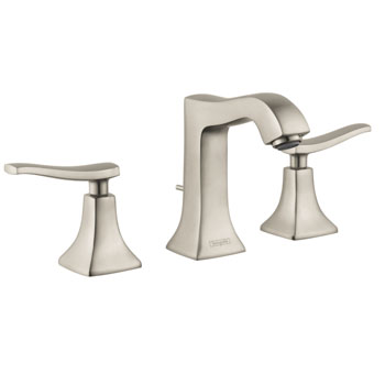 Hansgrohe 31073821 Metris C Widespread Lavatory Faucet - Brushed Nickel