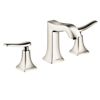 Hansgrohe 31073831 Metris C Widespread Lavatory Faucet - Polished Nickel