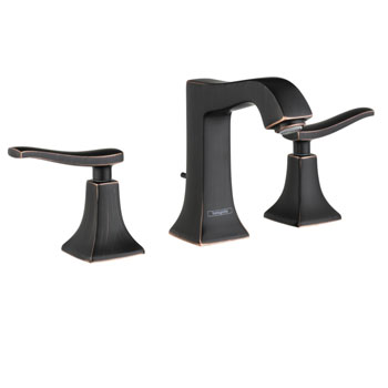 Hansgrohe 31073921 Metris C Widespread Lavatory Faucet - Rubbed Bronze