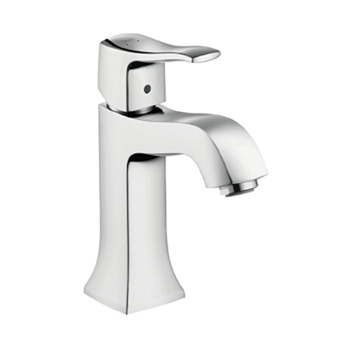 Hansgrohe 31075821 Metris C Single-Hole Faucet - Brushed Nickel (Pictured in Chrome)