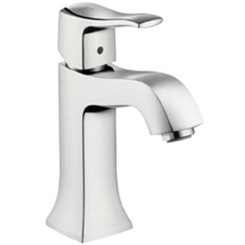 Hansgrohe 31077621 Metris C Single Hole Faucet with out Pop-Up - Oil Rubbed Bronze (Pictured in Chrome)