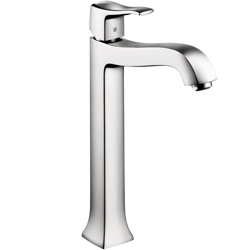 Hansgrohe 31078001 Metris C Tall Single-Hole Lavatory Faucet - Chrome