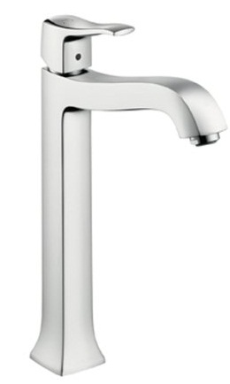Hansgrohe 31078821 Metris C Lavatory Single Handle Faucet - Brushed Nickel (Pictured in Chrome)