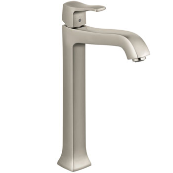 Hansgrohe 31078821 Metris C Lavatory Single Handle Faucet - Brushed Nickel