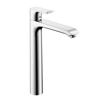 Hansgrohe 31082821 Metris 260 Single Hole Lavatory Faucet - Brushed Nickel (Pictured in Chrome)