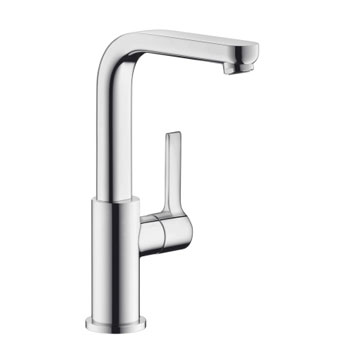 Hansgrohe 31161001 Metris S Tall Single-Hole Faucet - Chrome