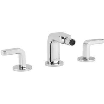 Hansgrohe 31267821 Metris S Widespread Bidet with Lever Handle - Brushed Nickel (Pictured in Chrome)