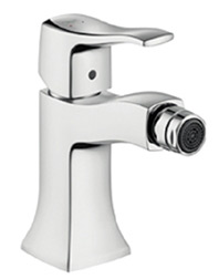 Hansgrohe 31275821 Metris C Single Hole Bidet Faucet - Brushed Nickel (Pictured in Chrome)
