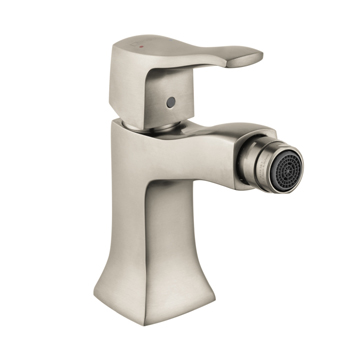 Hansgrohe 31275821 Metris C Single Hole Bidet Faucet - Brushed Nickel