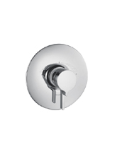 Hansgrohe 31317821 Metris ThermoBalance II (Trim Only) - Brushed Nickel (Pictured in Chrome)