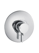 Hansgrohe 31318821 Metris ThermoBalance III (Trim Only) - Brushed Nickel (Pictured in Chrome)