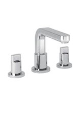 Hansgrohe 31436821 Metris 3-Hole Roman Tub Set (Trim Only) - Brushed Nickel (Pictured in Chrome)