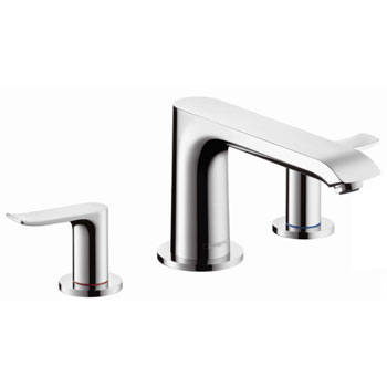 Hansgrohe 31440821 Metris 3 Hole Roman Tub Set Trim - Brushed Nickel