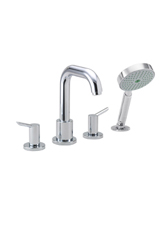 Hansgrohe 31733001 Focus 4-Hole Roman Tub Set (Trim Only) - Chrome
