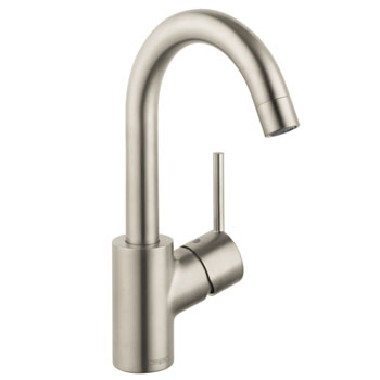 Hansgrohe 32070821 Talis Single-Hole Lavatory Mixer - Brushed Nickel (Picture in Chrome)
