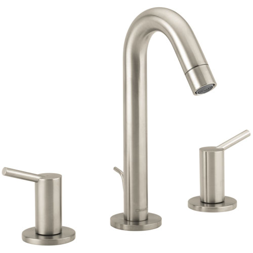 Hansgrohe 32310821 Talis Widespread Lavatory Faucet - Brushed Nickel