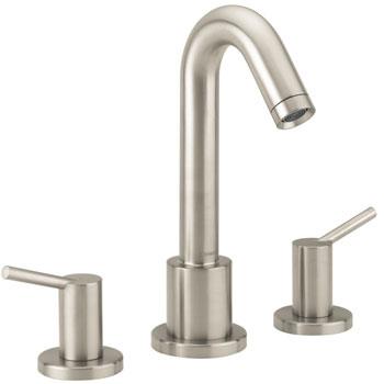 Hansgrohe 32313821 Talis 3-Hole Roman Tub Set (Trim Only) - Brushed Nickel