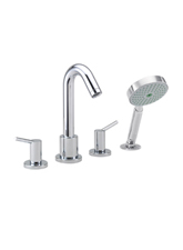 Hansgrohe 32314821 Talis 4-Hole Roman Tub Set (Trim Only) - Brushed Nickel (Pictured in Chrome)