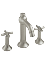 Hansgrohe 37133001 Axor Terrano Widespread Lavatory Faucet - Chrome (Pictured in Brushed Nickel)