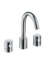 Hansgrohe 38033821 Axor Uno Widespread Lavatory Faucet - Brushed Nickel (Pictured in Chrome)