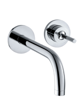 Hansgrohe 38118001 Axor Uno Wall Mounted Lavatory Faucet - Chrome