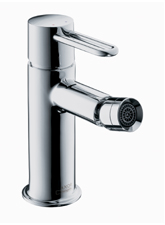 Hansgrohe 38210821 Axor Uno Bidet Mixer - Brushed Nickel (Pictured in Chrome)