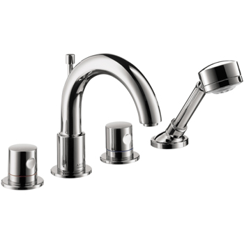 Hansgrohe 38447001 Axor Uno Roman Tub Faucet Trim Only - Chrome