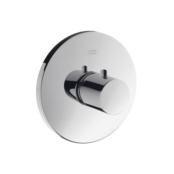 Hansgrohe 38715821 Axor Uno Thermostatic Trim - Brushed Nickel (Pictured in Chrome)