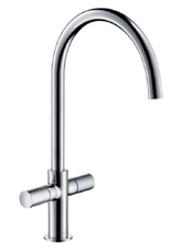 Hansgrohe 38840801 Axor Uno Kitchen Faucet - Steel Optik