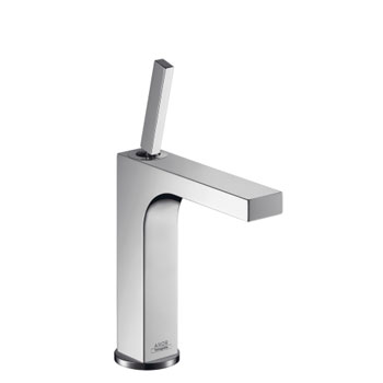 Hansgrohe 39031821 Axor Citterio Single-Hole Lavatory Faucet - Brushed Nickel (Pictured in Chrome)