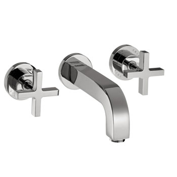 Hansgrohe 39143001 Axor Citterio Wall Mounted Widespread Lavatory Faucet - Chrome