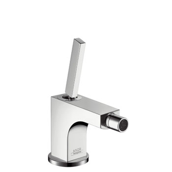 Hansgrohe 39210821 Axor Citterio Single-Hole Bidet Faucet - Brushed Nickel (Pictured in Chrome)