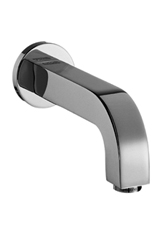 Hansgrohe 39411821 Axor Citterio Long Tub Spout - Brushed Nickel (Pictured in Chrome)