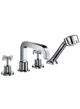 Hansgrohe 39453821 Axor Citterio Roman Tub Faucet Trim Only - Brushed Nickel (Pictured in Chrome)