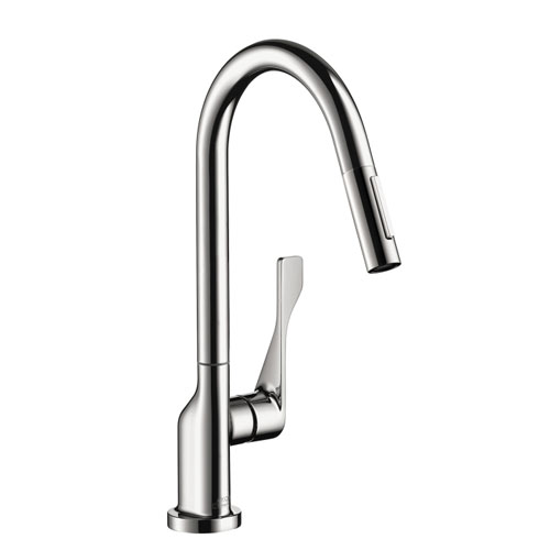 Hansgrohe 39835001 Axor Citterio Kitchen Faucet with 2-Spray Pull-Out - Chrome