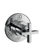Hansgrohe 39925001 Axor Citterio Quattro Diverter with Trim - Chrome