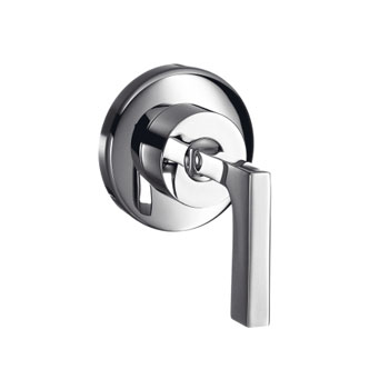 Hansgrohe 39961821 Axor Citterio Volume Control Trim with Lever Handle - Brushed Nickel (Pictured in Chrome)