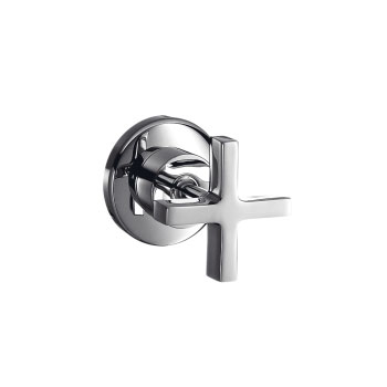 Hansgrohe 39967821 Axor Citterio Volume Control Trim with Cross Handle - Brushed Nickel (Pictured in Chrome)