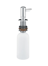 Hansgrohe 40418800 Kitchen Soap/Lotion Dispenser - Steel Optik (Pictured in Chrome)