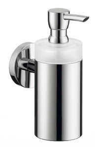 Hansgrohe 40514820 E & S Accessories Soap Dispenser - Brushed Nickel (Pictured in Chrome)