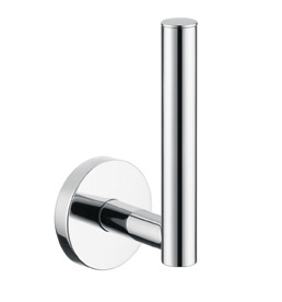 Hansgrohe 40517820 E & S Accessories Spare Toilet Paper Holder - Brushed Nickel (Pictured in Chrome)