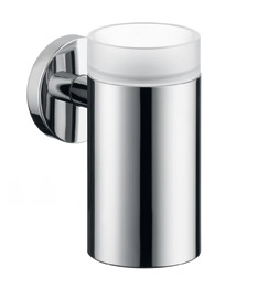 Hansgrohe 40518820 E & S Accessories Tooth Brush Holder - Brushed Nickel (Pictured in Chrome)