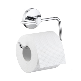 Hansgrohe 40526820 E & S Accessories Toilet Paper Holder - Brushed Nickel (Pictured in Chrome)
