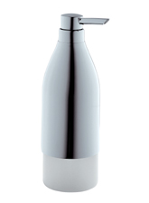 Hansgrohe 40819820 Axor Starck X Soap/Lotion Dispenser - Brushed Nickel (Pictured in Chrome)
