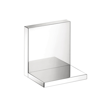 Hansgrohe 40872000 Axor Starck Short Shower Shelf - Chrome