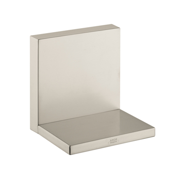 Hansgrohe 40872820 Axor Starck Short Shower Shelf - Brushed Nickel