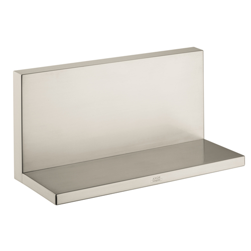 Hansgrohe 40873820 Axor Starck Long Shower Shelf - Brushed Nickel