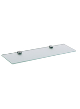 Hansgrohe 41250800 Axor Steel Glass Shelf - Steel