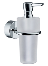 Hansgrohe 41519820 Axor Uno Soap/Lotion Dispenser - Brushed Nickel (Pictured in Chrome)
