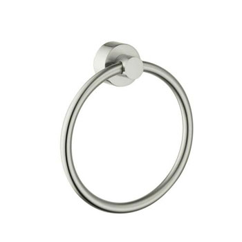Hansgrohe 41521820 Axor Uno Towel Ring - Brushed Nickel